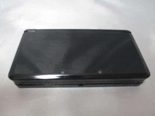 任天堂 ニンテンドー3DS クリアブラックの商品画像|3
