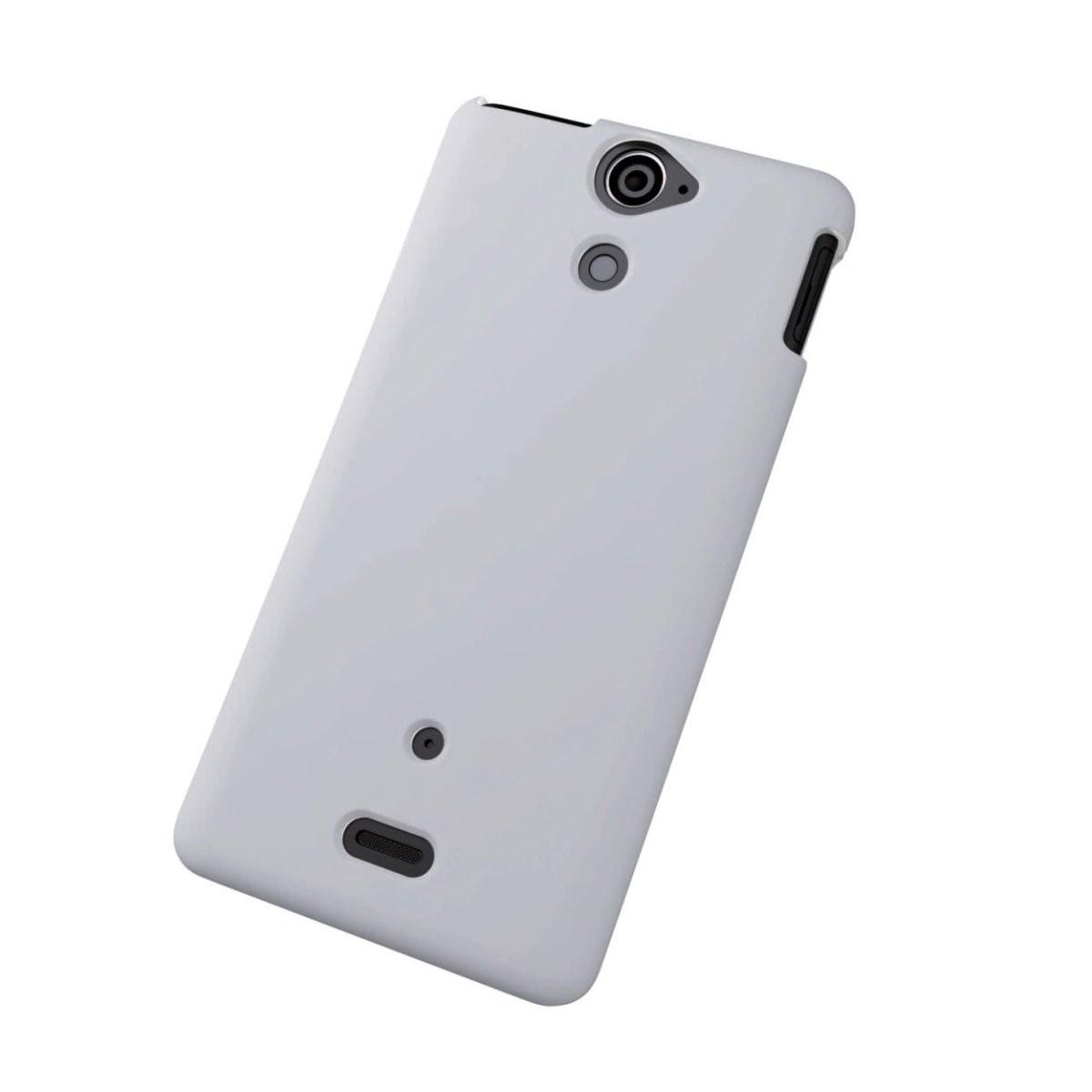 エレコム Xperia AX SO-01E用 シリコンケース クリア PD-SO01SCCRの商品画像|2