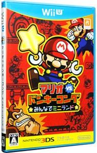 【Wii U】任天堂 マリオvs.ドンキーコング みんなでミニランドの商品画像 ナビ