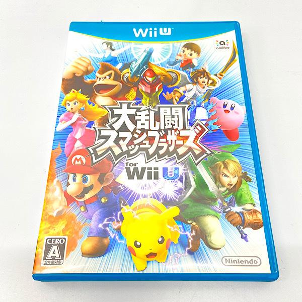 【Wii U】任天堂 大乱闘スマッシュブラザーズ for Wii Uの商品画像|ナビ