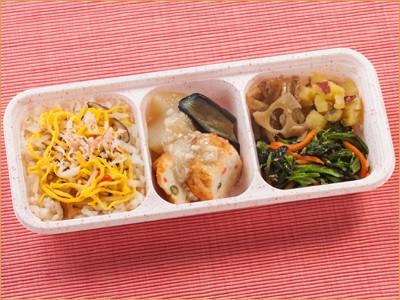 ウーディッシュ 五穀のちらし寿司とふんわりしんじょ (284kcal)