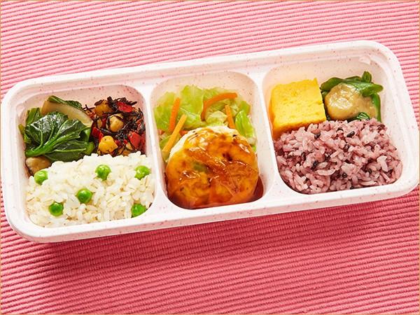 ウーディッシュ 豆腐ハンバーグ 香る柚子あん(364kcal)