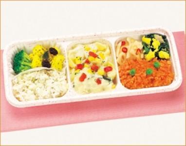 ウーディッシュ 白身魚と彩り野菜のクリーミーホワイトソース (316kcal)