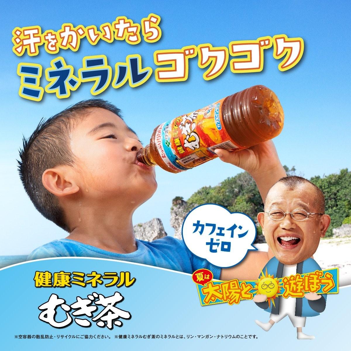 伊藤園 健康ミネラルむぎ茶 650ml × 24本 ペットボトルの商品画像 2