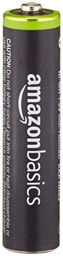 Amazonベーシック 充電式ニッケル水素電池 単4形8個パック (最小容量750mAh、約1000回使用可能) HR-4UTG-AMZN (8P)の商品画像|3