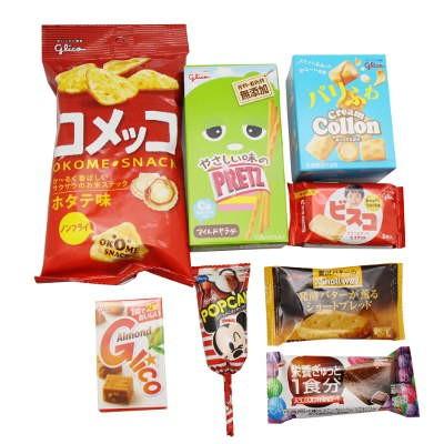 おかしのマーチ グリコ お菓子 詰め合わせ 500円 袋詰めの商品画像|2
