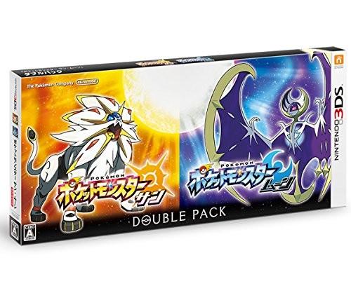【3DS】ポケモン ポケットモンスター サン・ムーン ダブルパックの商品画像 ナビ