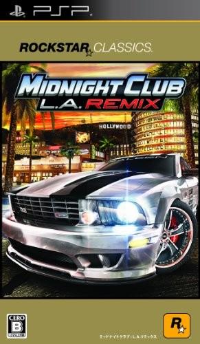 【PSP】スパイク・チュンソフト ロックスター・クラシックス ミッドナイト クラブ: L.A. リミックスの商品画像 ナビ