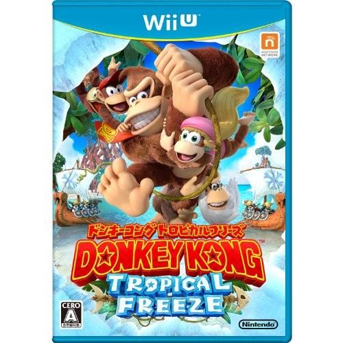 【Wii U】任天堂 ドンキーコング トロピカルフリーズの商品画像|ナビ