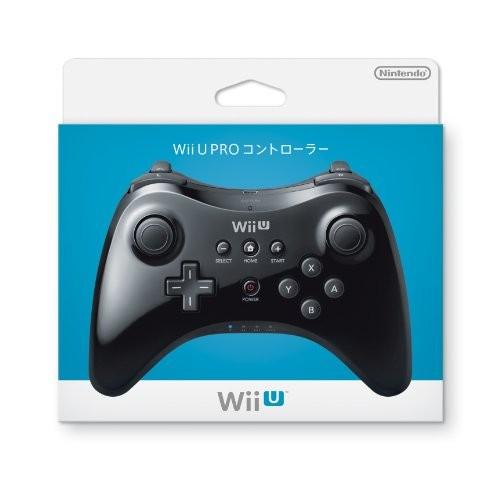 任天堂 Wii U PRO コントローラー クロ(kuro)WUP-A-RSKAの商品画像|ナビ