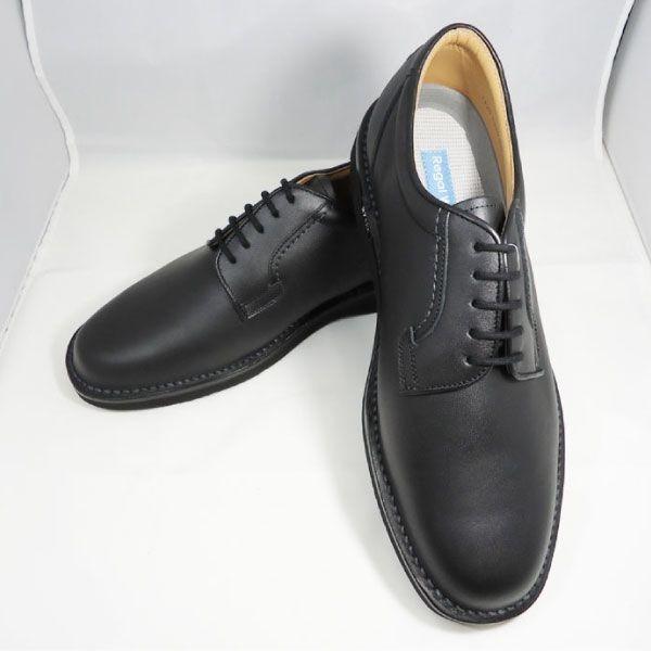 リーガル プレーントゥ ビジネスシューズ 601W(ブラック)の商品画像 4
