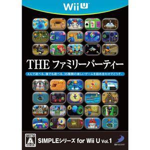 【Wii U】ディースリーパブリッシャー SIMPLEシリーズ for Wii U Vol.1 THE ファミリーパーティーの商品画像|ナビ