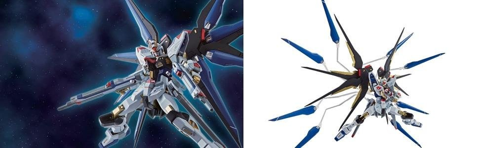 METAL ROBOT Soul Mobile Suit Gundam SEED DESTINY Strike Freedom Gundam SIDE MS