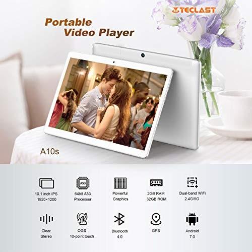 TECLAST A10S 10.1インチ メモリー2GB ストレージ32GBの商品画像|2