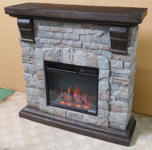 ロイドグランデ 18インチ 電気式暖炉 パイオニア(キャストストーン)の商品画像|3