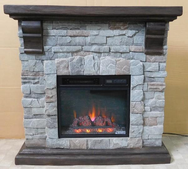 ロイドグランデ 18インチ 電気式暖炉 パイオニア(キャストストーン)の商品画像|4