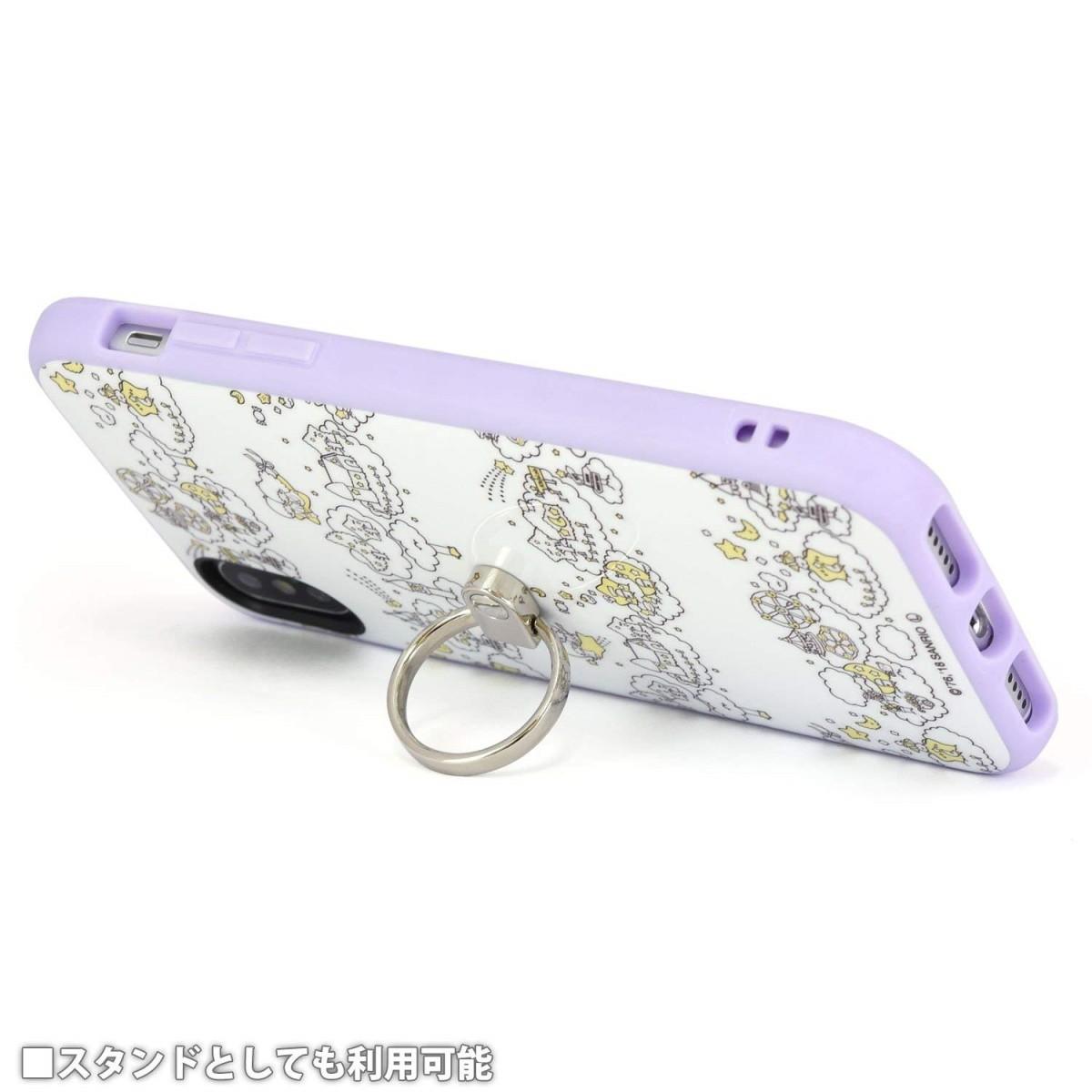 iPhone X用 サンリオキャラクターズ IIIIfitリングケース キキ&ララ SAN-795TSの商品画像 4