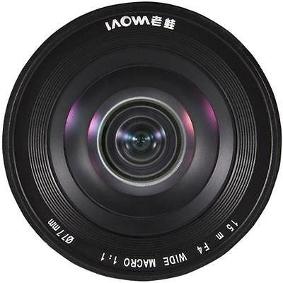ラオワ LAOWA 15mm F4 Wide Angle Macro with Shift(ソニーE)の商品画像|4
