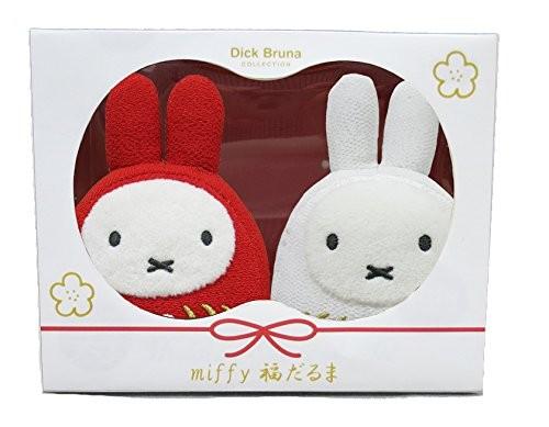 ミッフィー 福だるま 紅白セット 660179の商品画像 ナビ