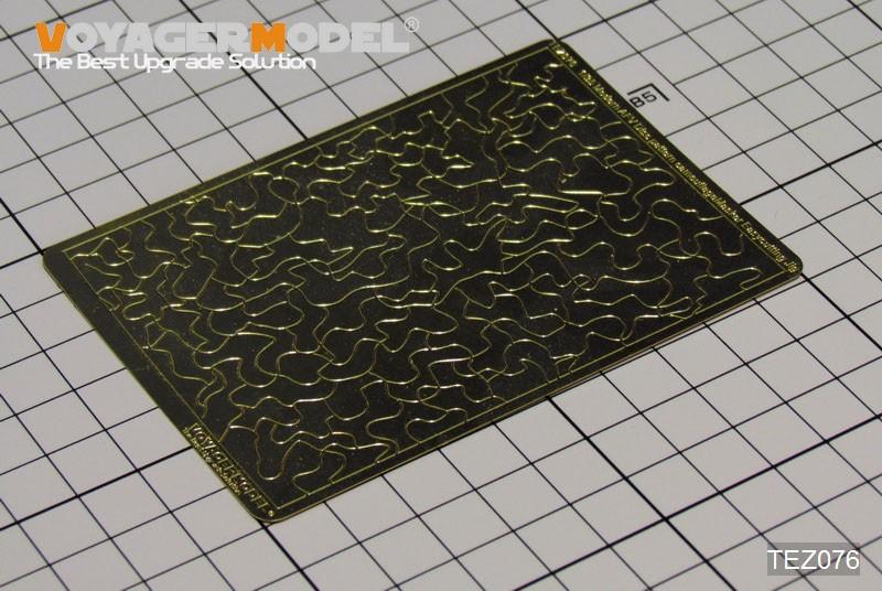 現用AFV ディスクパターン迷彩 マスク製作ジグ (汎用) (1/35スケール エッチングパーツ TEZ076)の商品画像|ナビ