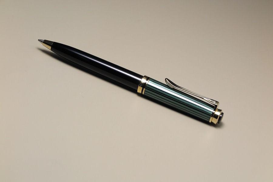 ペリカン スーベレーン 油性ボールペン(グリーンストライプ) PE-K300-GRの商品画像|2