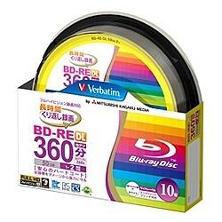 三菱ケミカルメディア 録画用BD-RE DL 2倍速 10枚 VBE260NP10SV1の商品画像|ナビ