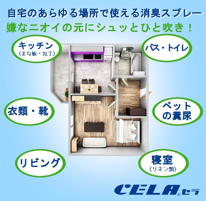 次亜塩素酸水 CELA(セラ) スプレー 30ml 1本の商品画像|2