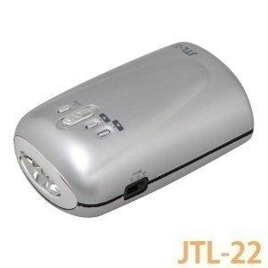懐中電灯 ラジオ 手回し充電ミニラジオライト 携帯充電 JTL-22 アイリスオーヤマ 防災グッズ