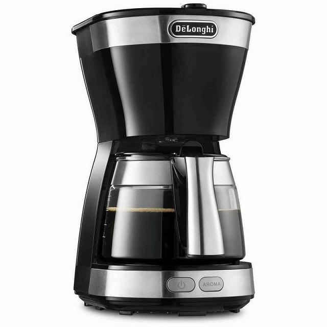 アクティブドリップコーヒーメーカー ICM12011J-BK (インテンスブラック)の商品画像|ナビ