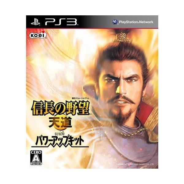 【PS3】コーエーテクモゲームス 信長の野望 天道 with パワーアップキットの商品画像|ナビ