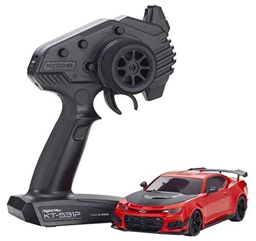 京商 1/27RC ミニッツRWDシリーズ CHEVROLET® CAMARO® ZL1™ 1LE レッドホット レディセット LEDライトユニット付 32339Rの商品画像|ナビ