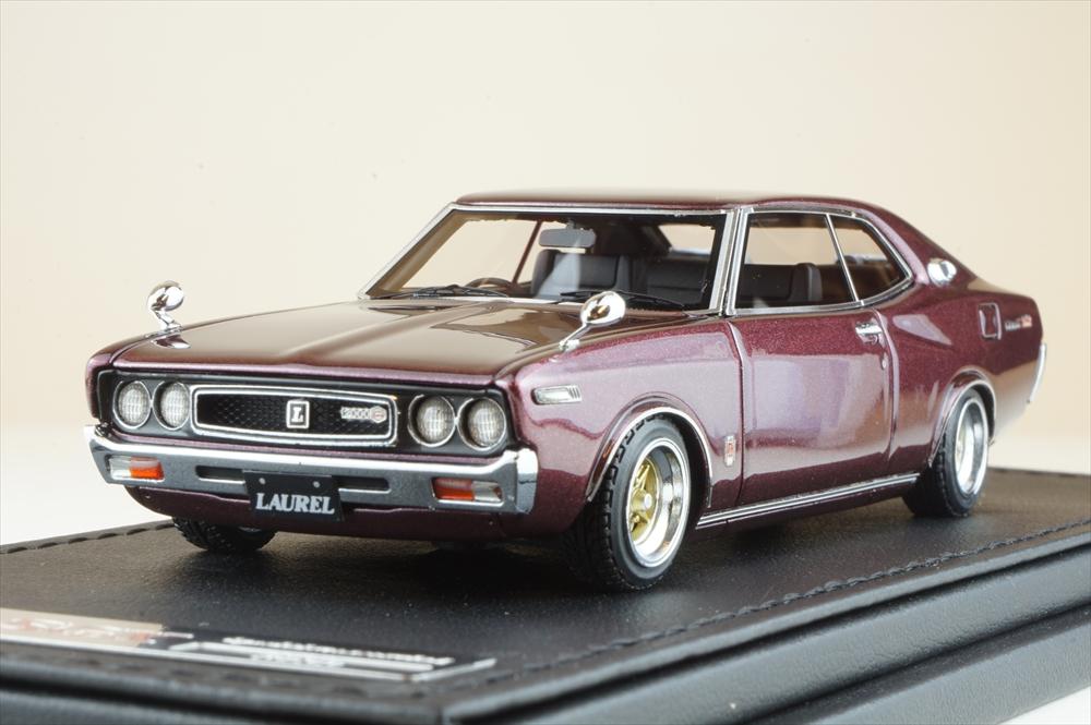 Nissan Laurel 2000SGX (C130) Purple (1/43スケール IG1908)の商品画像|ナビ