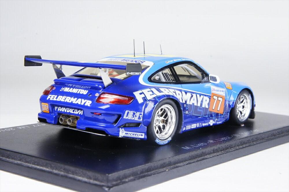 ポルシェ 997 GT3 RSR フェルバーマイヤープロトン 10 ルマン LMGT2クラス (1/43スケール S2583)の商品画像|ナビ