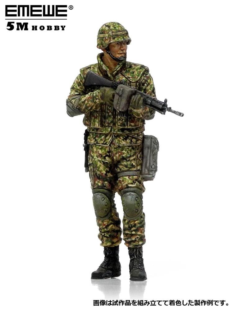 陸上自衛隊 普通科隊員 近接戦闘訓練A (1/35スケール M30515)の商品画像|ナビ