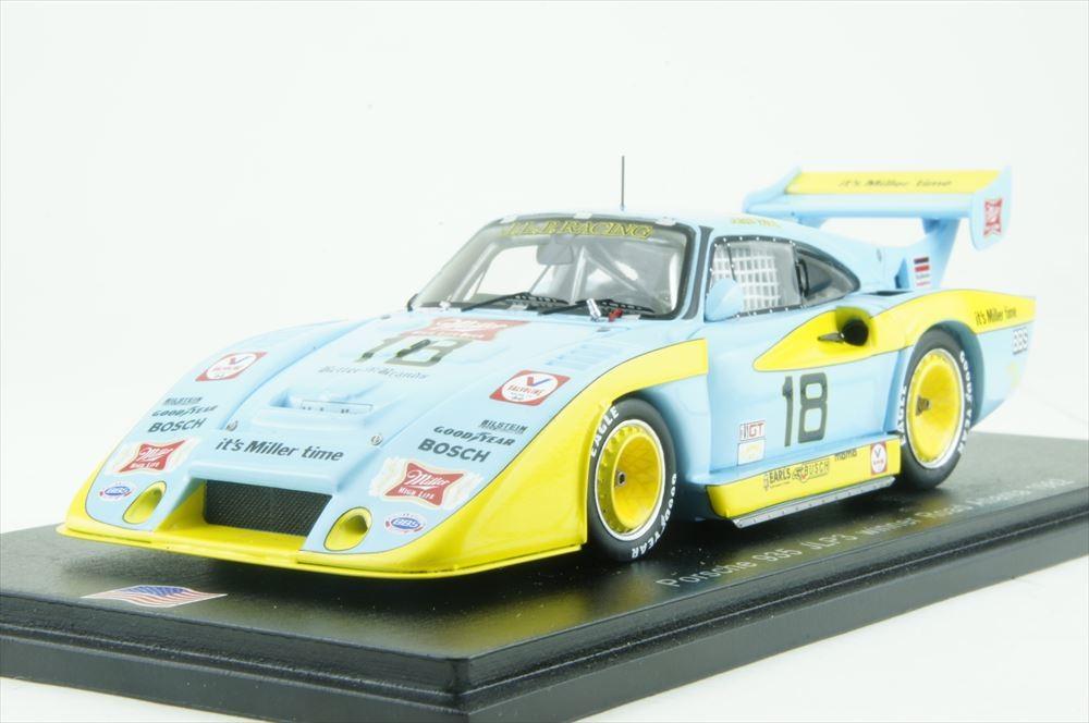 Porsche 935 JLP-3 No.18 Riverside 6 hours 1982 John Paul Jr. (1/43スケール US035)の商品画像 ナビ