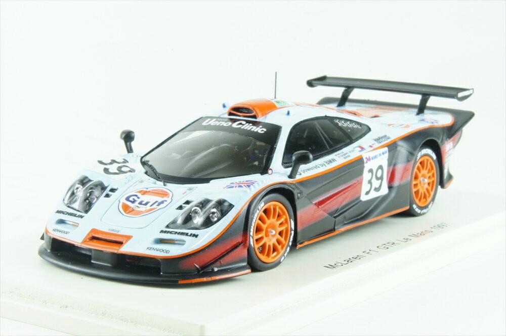 McLaren F1 GTR No.39 Le Mans 1997 R.Bellm A.Gilbert-Scott M.Sekiya (1/43スケール S5082)の商品画像|ナビ