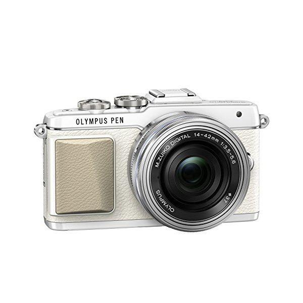 オリンパス オリンパスペン OLYMPUS PEN Lite E-PL7 14-42mm EZ レンズキット(ホワイト)の商品画像|2