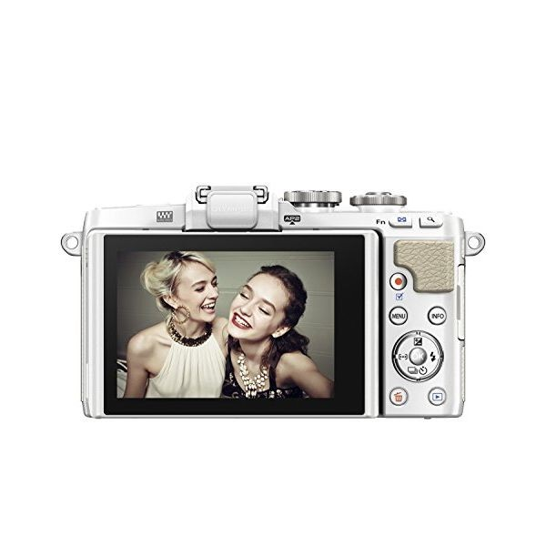 オリンパス オリンパスペン OLYMPUS PEN Lite E-PL7 14-42mm EZ レンズキット(ホワイト)の商品画像|4