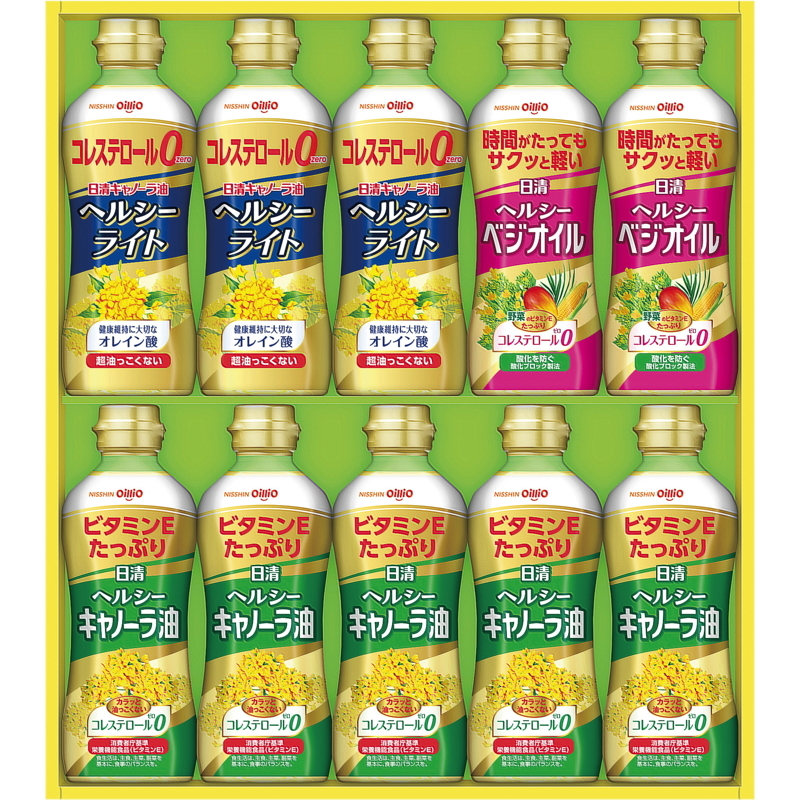 日清オイリオ ヘルシーオイルバラエティギフト OP-50の商品画像|ナビ