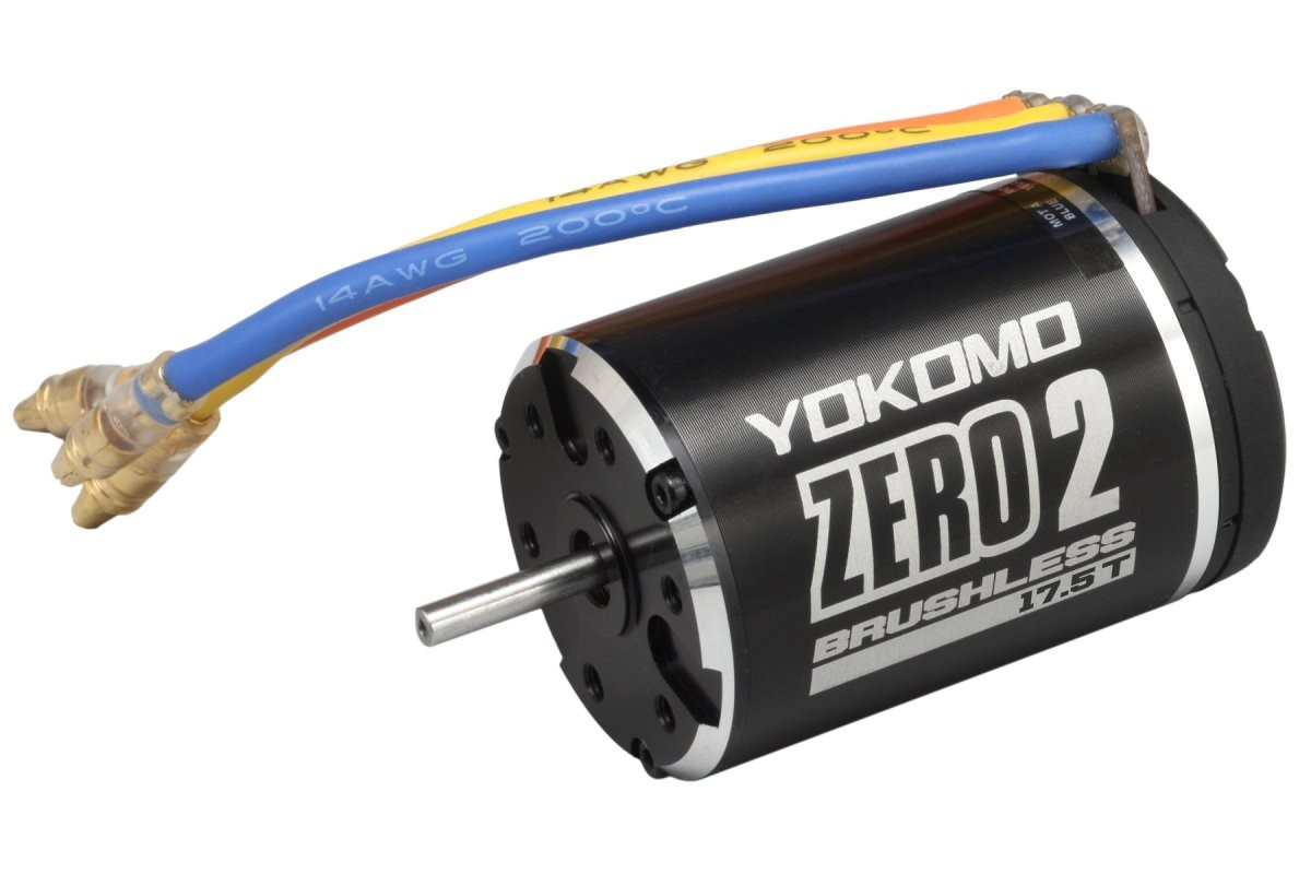 ヨコモ モーター ZERO 2 ブラシレス 17.5T YM-BL175Bの商品画像 ナビ