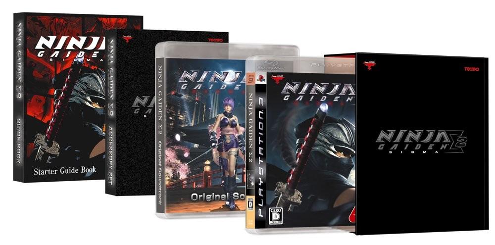 【PS3】コーエーテクモゲームス NINJA GAIDEN Σ2 プレミアムボックス(初回限定版)の商品画像|ナビ
