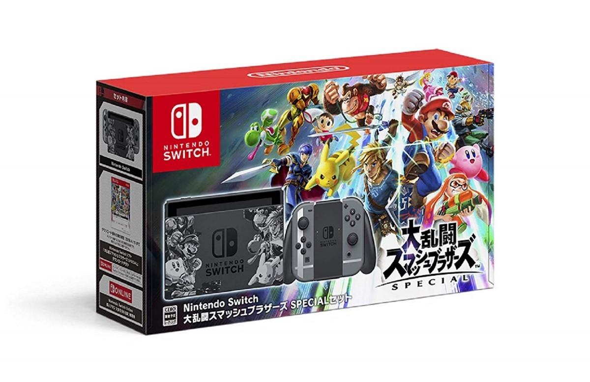 Nintendo Switch 大乱闘スマッシュブラザーズ SPECIALセットの商品画像|ナビ