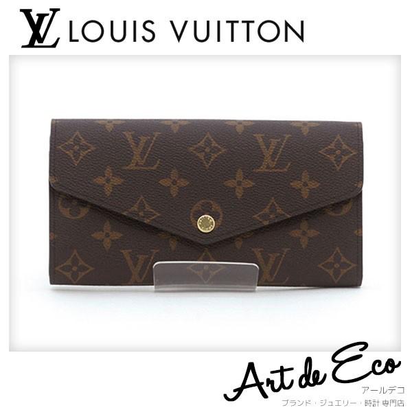 best website 6429a 6c0de Louis Vuitton LOUIS VUITTON длинный кошелек монограмма ...