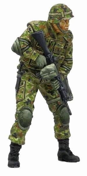 陸上自衛隊 普通科隊員 近接戦闘訓練B (1/35スケール M30516)の商品画像 ナビ