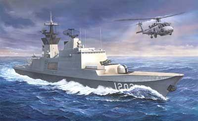 ブロンコモデル 台湾 カンディン級 フリゲート艦(1/350スケール CB5002)の商品画像|ナビ