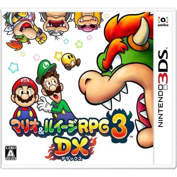 【3DS】 マリオ&ルイージRPG3 DXの商品画像|ナビ