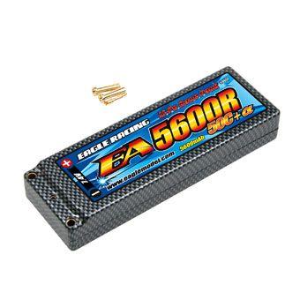 イーグル模型 バッテリー Li-Poバッテリー EA5600R/7.4V 50C ハードケース仕様 3657の商品画像|ナビ