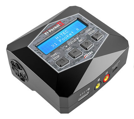 ハイテック 充放電器 充放電器 X1 ポケット II 44306の商品画像 ナビ