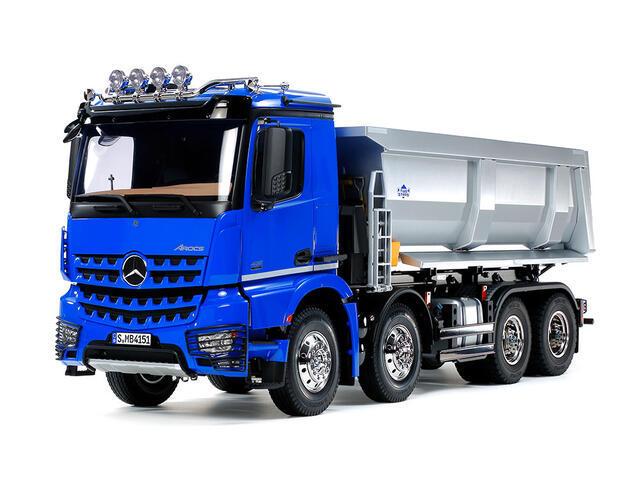 タミヤ 1/14RC メルセデス・ベンツ アロクス 4151 8x4 ダンプトラック (プロポ付) 56365の商品画像|ナビ