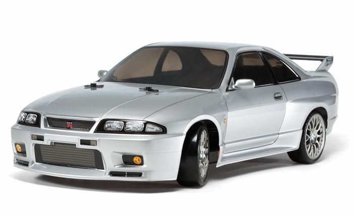 タミヤ 1/10RC NISSAN スカイライン GT-R(R33)(TT-02Dシャーシ)ドリフトスペック 58604の商品画像 ナビ